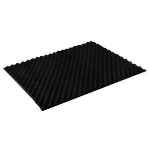 Silverstone SF02 - Lot de 2 blocs en mousse EPDM pour absorption du bruit