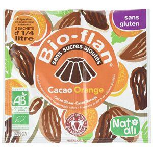 Natali Bio Flan Chocolat Orange bio