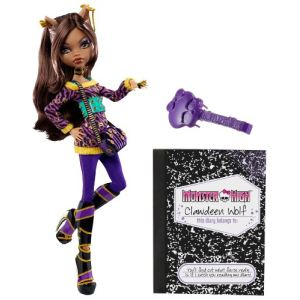 Mattel Monster High Clawdeen Wolf et son journal intime (V7990)