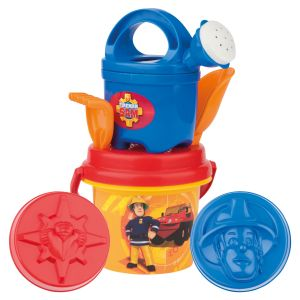 Simba Toys Seau garni Sam le Pompier (7 pièces)