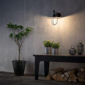Philips Pasture E27 noir - Applique extérieure LED