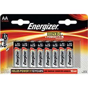 Energizer Batterie MAX AA LR6 Mignon Maxipack 12 piles