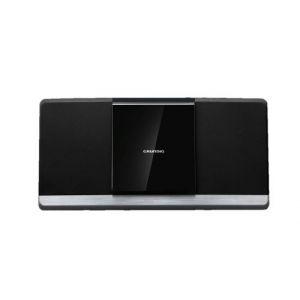 Grundig Microchaîne Hifi Tout-en-1 | Tuner FM RDS | DAB+ | Bluetooth | 40 W RMS - 20 présélections