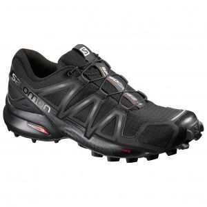 Salomon Speedcross 4 black/black metallic - Chaussure trail/running homme (37 1/3)