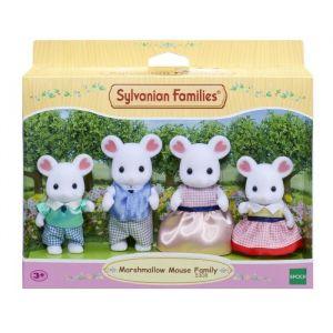 Epoch Sylvanian Families - Famille souris marshmallow Sylvanian - 5308