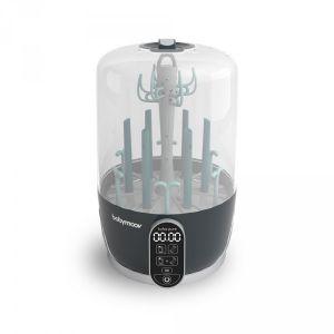 Babymoov Stérilisateur et sèche-biberons électrique Turbo Pure gris