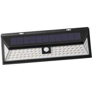 Outiror Projecteur solaire détecteur de mouvement - 80 LED