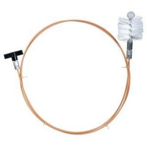Ribimex PRFU8030 - Kit de ramonage 3 m pour poêle