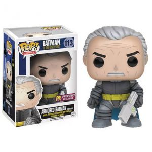 Funko Pop! Dark Knight Batman démasqué en armure