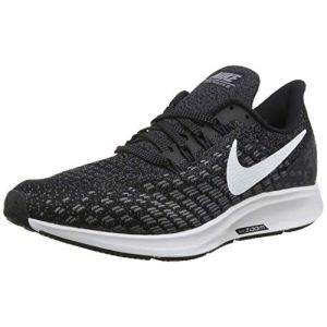 Nike Air Zoom Pegasus 35, Chaussures de Running Compétition Homme, Multicolore (Black/White/Gunsmoke/Oil Grey 001), 45.5 EU
