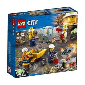 Lego 60184 - City : L'équipe minière