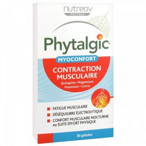Nutreov PHYTALGIC - Myoconfort Contraction Musculaire, 30 capsules