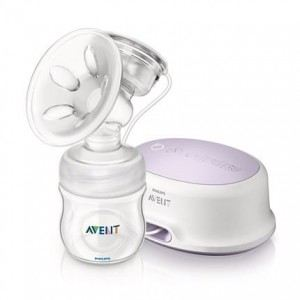 Philips Avent SCF332/01 - Tire-lait électronique simple avec biberon Natural 125 ml