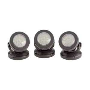 pontec 57520 - Eclairage d'étang à LED 3 spots Pondostar