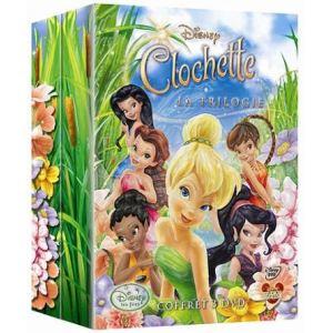 Coffret Clochette - La Fée Clochette + Clochette et la pierre de lune + Clochette et l'expédition Féerique