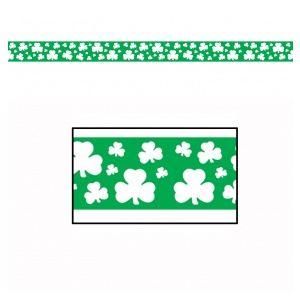 Guirlande plastique trèfles St Patrick (6 mètres)