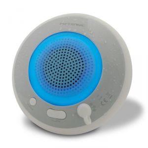 Metronic 477067 - Enceinte Bluetooth Splash Waterproof LED multicolores