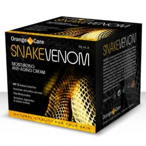Orange Care Snake Venom - Crème anti-âge au venin de serpent