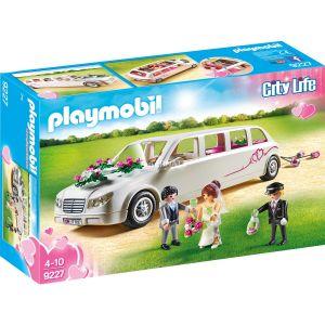 Image de Playmobil 9227 City Life - Limousine avec couple de mariés (mariage)