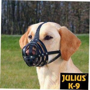 Julius K9 Muselière en peau de buffle