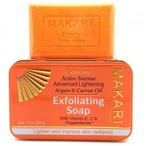 Makari Extrême - Savon exfoliant éclaircissant