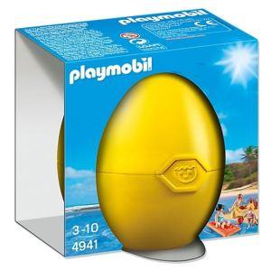Playmobil 4941 - Oeuf de pâques : Famille à la plage