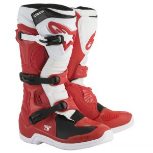 Alpinestars Tech 3 Red White 2018 - Bottes cross