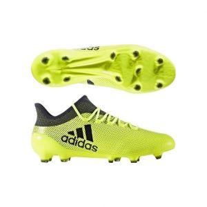 Adidas X 17.1 FG, Chaussures de Football Homme, Jaune (Amasol/Tinley/Tinley), 43 1/3 EU