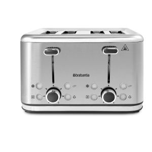 Brabantia BRAB104 - Grille-pain 4 tranches