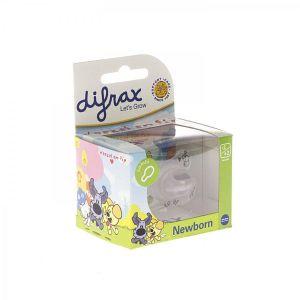 Difrax Sucette combi Woezel & Pip (-2/+2 mois)