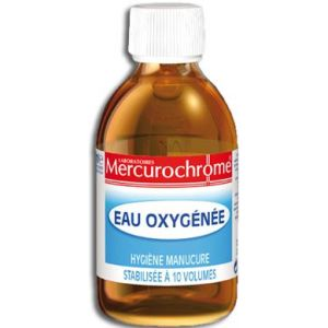 Mercurochrome Eau oxygénée 10 volumes
