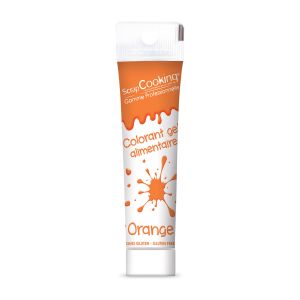 Scrapcooking Colorant gel orange 20g