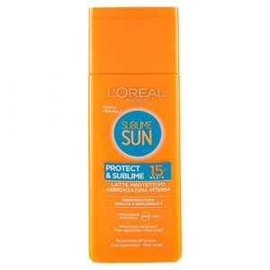 L'Oréal Sublime sun - Latte protettivo IP 15 media