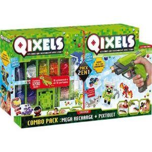 Asmodée Combo Qixels : Pixtolet et méga recharge