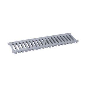 Nicoll Grille caniveau PVC 0,5m A15 largeur 200 gris