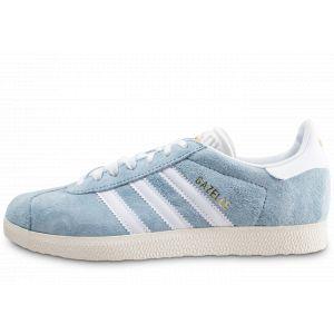 Adidas Chaussures Gazelle Clair Femme bleu - Taille 38,36 2/3,37 1/3,39 1/3,40 2/3