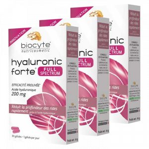 Biocyte Hyaluronic forte full spectrum - 3x30 gélules