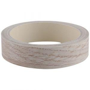 Nordlinger Pro Chant adhésif pré-encollé - 23 mm x 5 m - chêne blanchi - Ruban couleur