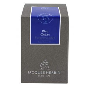 Herbin 15018JT - Flacon d'encre 1670, 50ml, couleur bleu océan