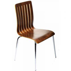 Kokoon Design Chaise design en Bois Marron RICHARD