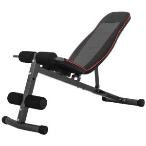 Gorilla Sports GS027 - Banc de musculation multi-positions extra large