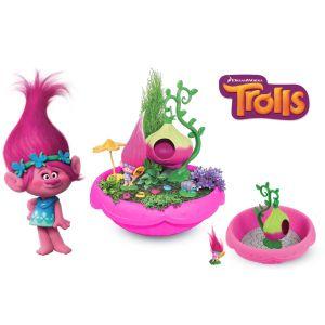 Modelco Jardin miniature Poppy Trolls