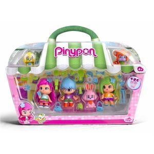 Famosa Pinypon Coffret 6 figurines City en animaux