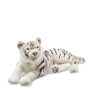 Steiff Peluche Tuhin le tigre blanc couché 110 cm
