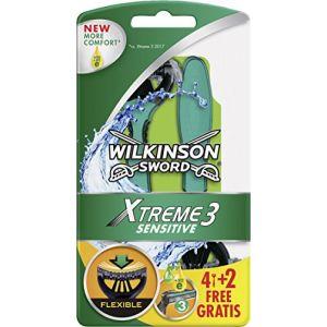 Wilkinson Xtreme3 Sensitive Herren Einwegrasierer