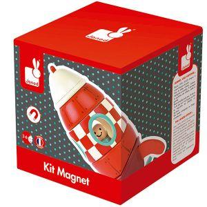 Janod Kit magnet Fusée
