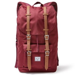 Herschel Sac à dos Little America 15.4'' Bordeaux