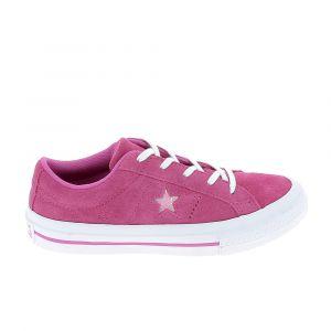 Converse Chaussure ville basse one star b c fuschia 30