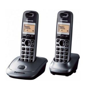 Panasonic KX-TG2512 Duo - Téléphone sans fil 2 combinés