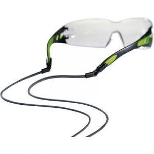 Uvex Lunette de protection Pheos noir/vert